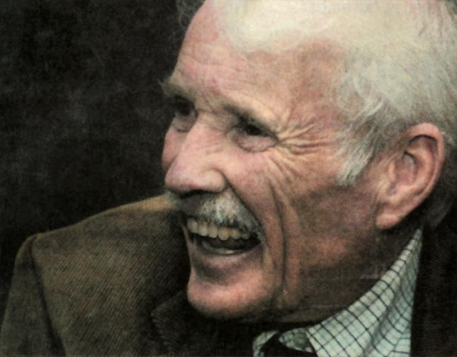My Grandma's favorite photo of Granddad (Larry Bourret).