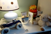 Bedside toys and keepsakes