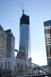 One World Trade Center under construction