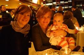 Katie, Julie and Mae.