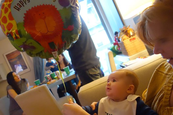 Henry encounters a balloon for the first time.
