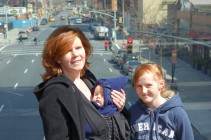 Jacqui, Henry & Kaylie on The High Line.