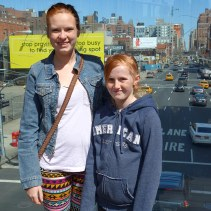 Ona & Kaylie visiting The High Line.