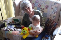 Henry with Gram.