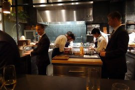 The kitchen at Atera.