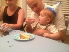 Eating more cake.