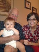 Paw Paw Butch and Grandma Lois.