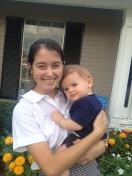 Designated babysitter, cousin Shannon.