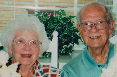 Virgie and Henry on August 25, 2002…