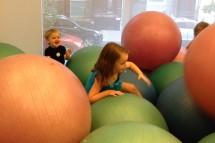 Balance balls.