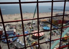 view from the Wonder Wheel.