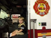 In a FDNY fire engine