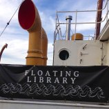 Floating Library aboard the Lilac