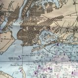 Nautical chart of New York Harbor
