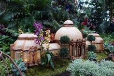 Scale model of the Haupt Conservatory