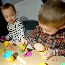Ain't no party like a Play-Doh party.