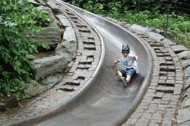 Birthday boy slide