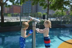 Last day, water play.