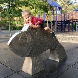 Fish rider.