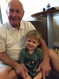 Paw Paw and Henry.